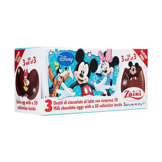 ZA-MICKEY CHOC EGGS 60G