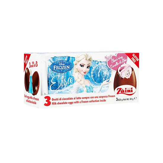 ZA-FROZEN ELSA RING CHOC EGGS