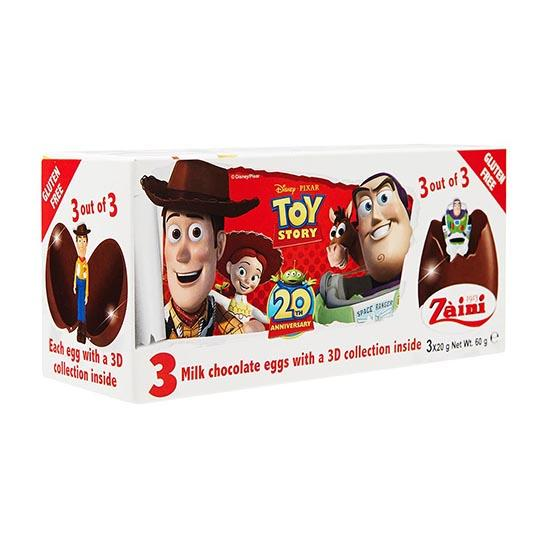 ZA-TOY STORY CHOC EGGS 60G