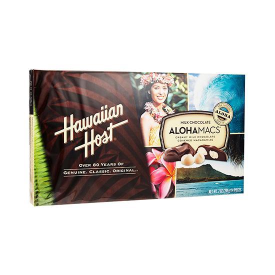 HH-ALOHAMACS MILK CHOC NUT 198G
