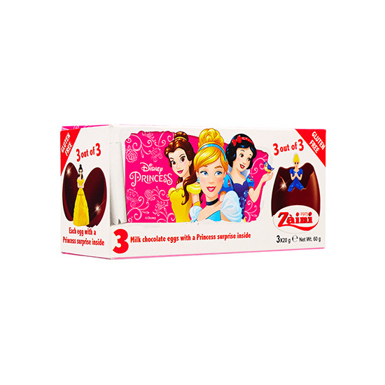 ZA-PRINCESS CHOC EGG 60G